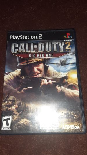 Call Of Duty 2: Big Red One for Sale in Long Beach, CA