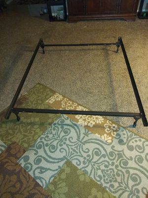 Adjustable twin to full bed frame for Sale in Smyrna, TN