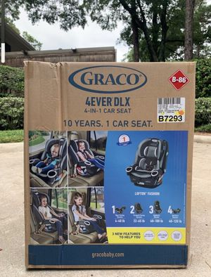 *NEW* Graco 4Ever DLX 4-in-1 Convertible Car Seat for Sale in Houston, TX