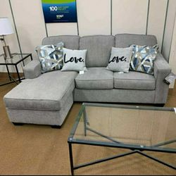 Greaves Stone Sofa Chaise ✔️ Couch ⭐ Living Room Set for Sale in Round Rock,  TX