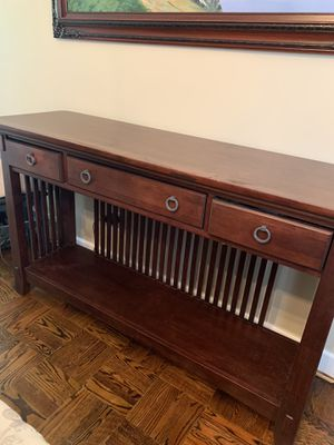 Console/Entry table with drawers for Sale in Philadelphia, PA