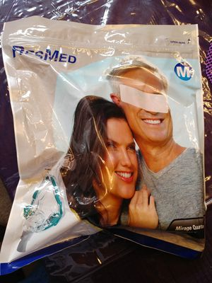 Resmed Mirage Quattro Full Face Mask #61202 for Sale in El Paso, TX