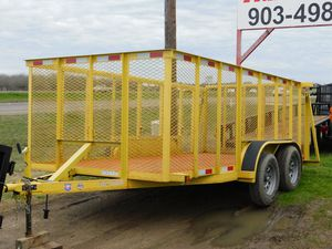 16ft Used Trash Trailer for Sale in Wichita Falls, TX