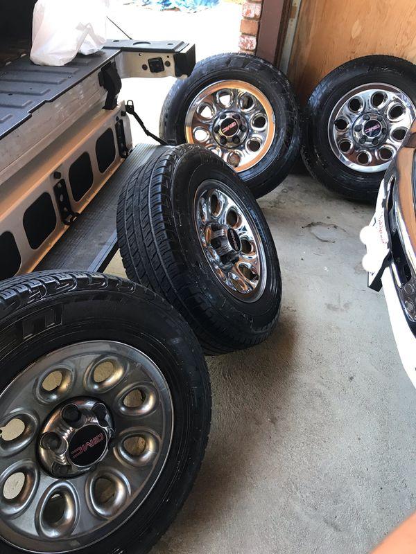 Gmc wheels