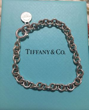 Tiffany & Co Authentic Bracelet Silver 925 Return to Tiffany New York charm for Sale in Grove City, OH