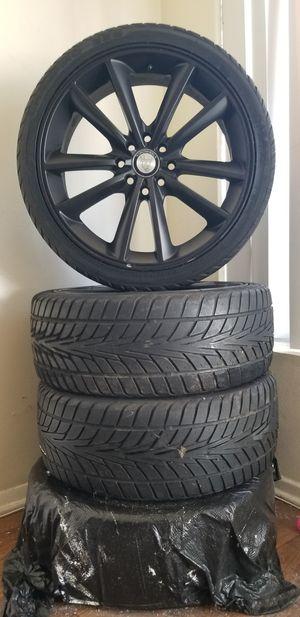 Toro Wheels 17in Rims with Champiro 328 Tubeless Tires for Sale in Santa Ana, CA