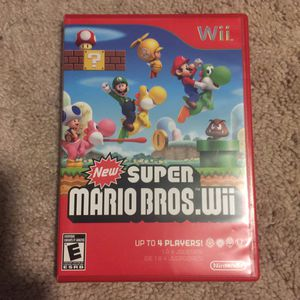New Super Mario Bros Wii for Sale in Austin, TX