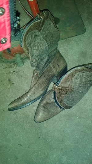 Size 11 gator boots for Sale in Columbus, OH