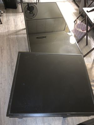 Glass coffee table glass side table for Sale in Inglewood, CA