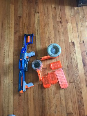 Nerf rampage with clips for Sale in Hurst, TX