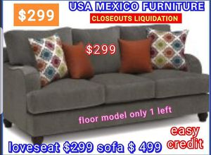 CLOSEOUTS LIQUIDATIONS ITEM LOVESEAT BRAND NEW BY USA MEXICO FURNITURE for Sale in Claremont, CA