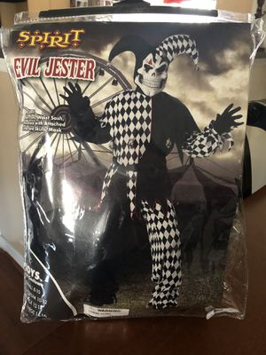 Evil Jester Kids Costumne for Sale in Kissimmee, FL