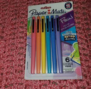 Paper mate felt tip pens for Sale in El Dorado, AR