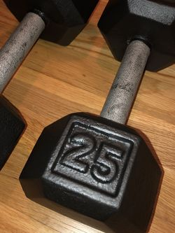 25lbs Dumbbells for Sale in Portland,  OR