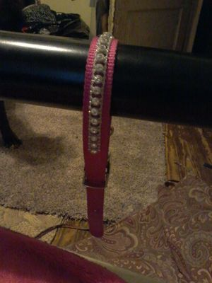 Cute pink dog collar for Sale in Detroit, MI