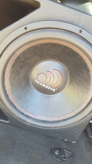Massive Audio 15s in a Pro Box for Sale in Texas City, TX
