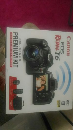 CANON EOS REBEL DSLR PREMIUM KIT for Sale in Brentwood, TN