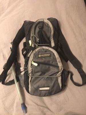 Hiking camping backpack with water bag for Sale in Visalia, CA