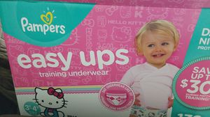 Pampers Easy up Training Underwear/Diaper for Sale in Virginia Beach, VA