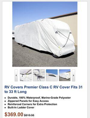 Class C RV Cover Heavy Duty. for Sale in Las Vegas, NV