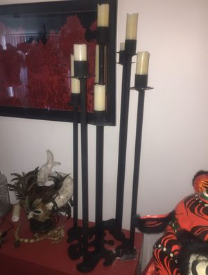 5ft solid metal candelabra for Sale in Seattle, WA