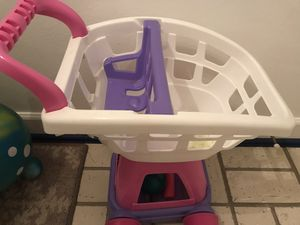Plastic Toy grocery cart for Sale in Virginia Beach, VA
