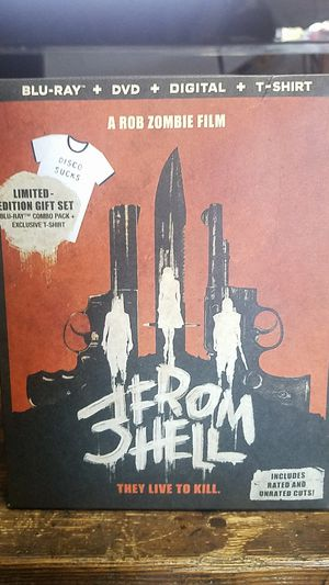 3 from hell brand new sealed limited edition for Sale in Ontario, CA