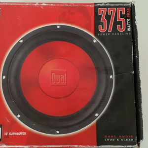 """10"""" Dual Subwoofer Speakers for Sale in Chula Vista, CA"""
