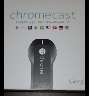 Google chromecast for Sale in Rancho Cucamonga, CA