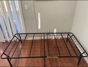 Foldable twin bed frame for Sale in Seal Beach, CA