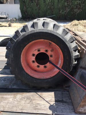 Bobcat tires need gone for Sale in Huntington Park, CA