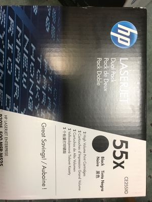 HP Toner 55 x for Sale in Chardon, OH