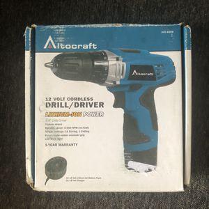Altocraft 12V Cordless Drill for Sale in Morris, IL