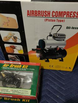 Air Brush Compressor + Air Brush Kit Bundle for Sale in Sacramento,  CA