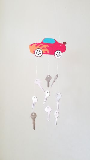 WIND CHIME RACE CAR WITH KEYS HOMEMADE for Sale in Cypress Gardens, FL