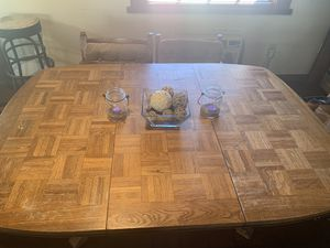 6 chair kitchen table for Sale in El Cajon, CA