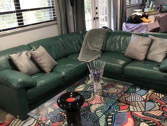 Green Sofa Set And Carpet for Sale in Miami,  FL