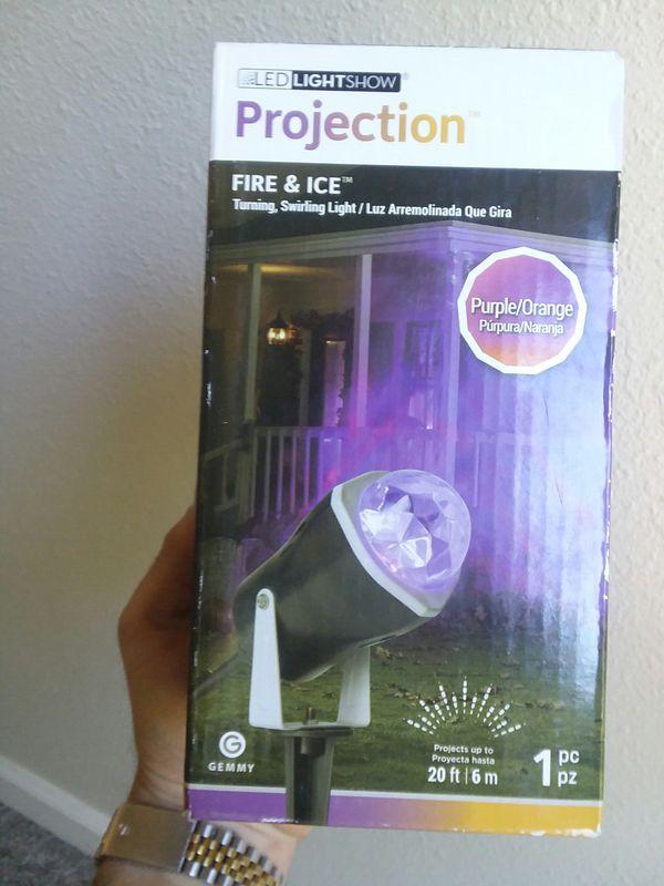 MAKE OFFER!! Black projection light