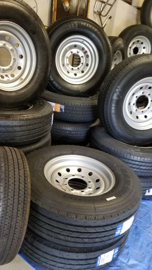 TRAILER TIRES AND WHEELS STARTING AT $70+ TAX AND UP for Sale in Douglasville, GA