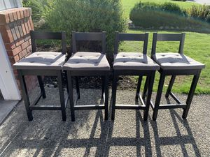 IKEA Counter Stools Set of 4 for Sale in Redmond, WA