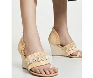 Leandra Medina - fringe wedge. Size 36.5 (US 6.5) for Sale in Sunnyvale, CA