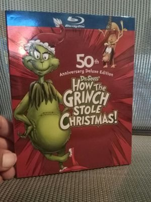 How the grinch stole Christmas blue ray for Sale in Edgewood, WA
