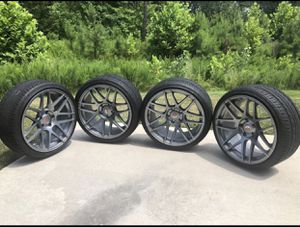 """BMW 19"""" wheels and custom rims staggered setup. for Sale in Richmond, VA"""