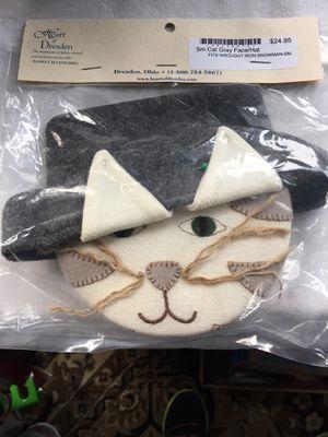 Longaberger Wrought Iron Sm snowman cat Face! for Sale in Cranston, RI