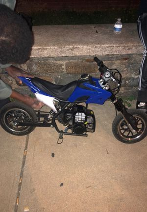 50cc mini dirtbike 30-35 mph fit for a kid for Sale in Philadelphia, PA