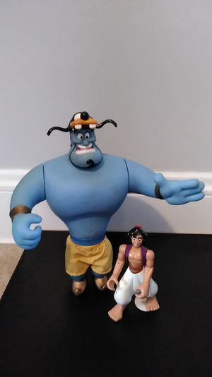 Disney's Alladin Toy Lot Vintage for Sale in Parma, OH