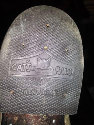 Catpaws cream color ostrich boots for Sale in Everett, WA