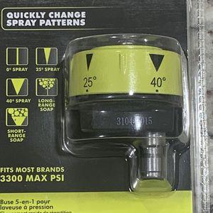 Ryobi Pressure Washer 5 N 1 Nozzle for Sale in McKinney, TX