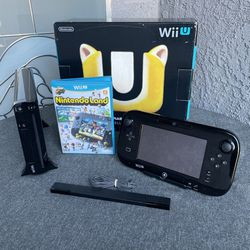 Nintendo Wii U With Box (No Cables) for Sale in Fullerton,  CA