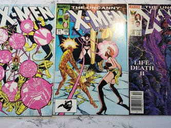 """3 ISSUE LOT """" THE UNCANNY X-MEN """" 188, 189, 198 (1984-1985) FN/VF+ Marvel Comics for Sale in San Diego,  CA"""